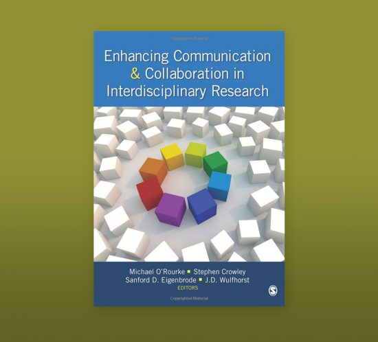 graphic of enhancing communication collaboration book cover